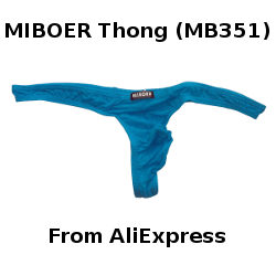 MIBOER Thong MB351 Review