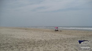 Beach on Ocracoke Island