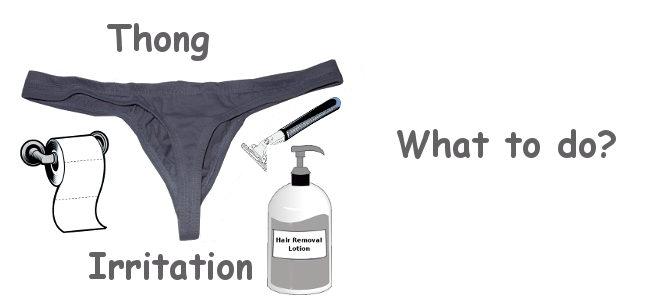 Thong irritation