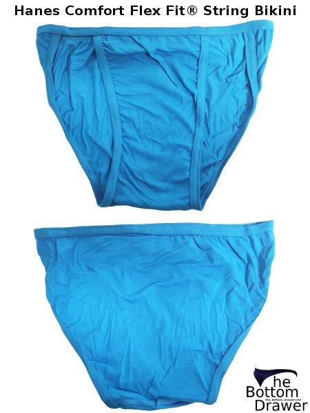 Hanes comfort flex fit string bikinis