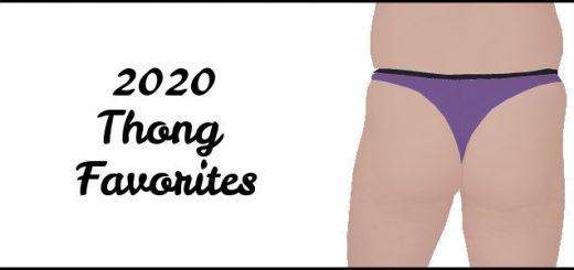 2020 Thong Favorites