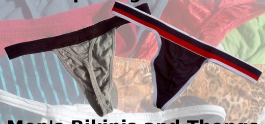Tips for getting into Men's bikinis and thongs